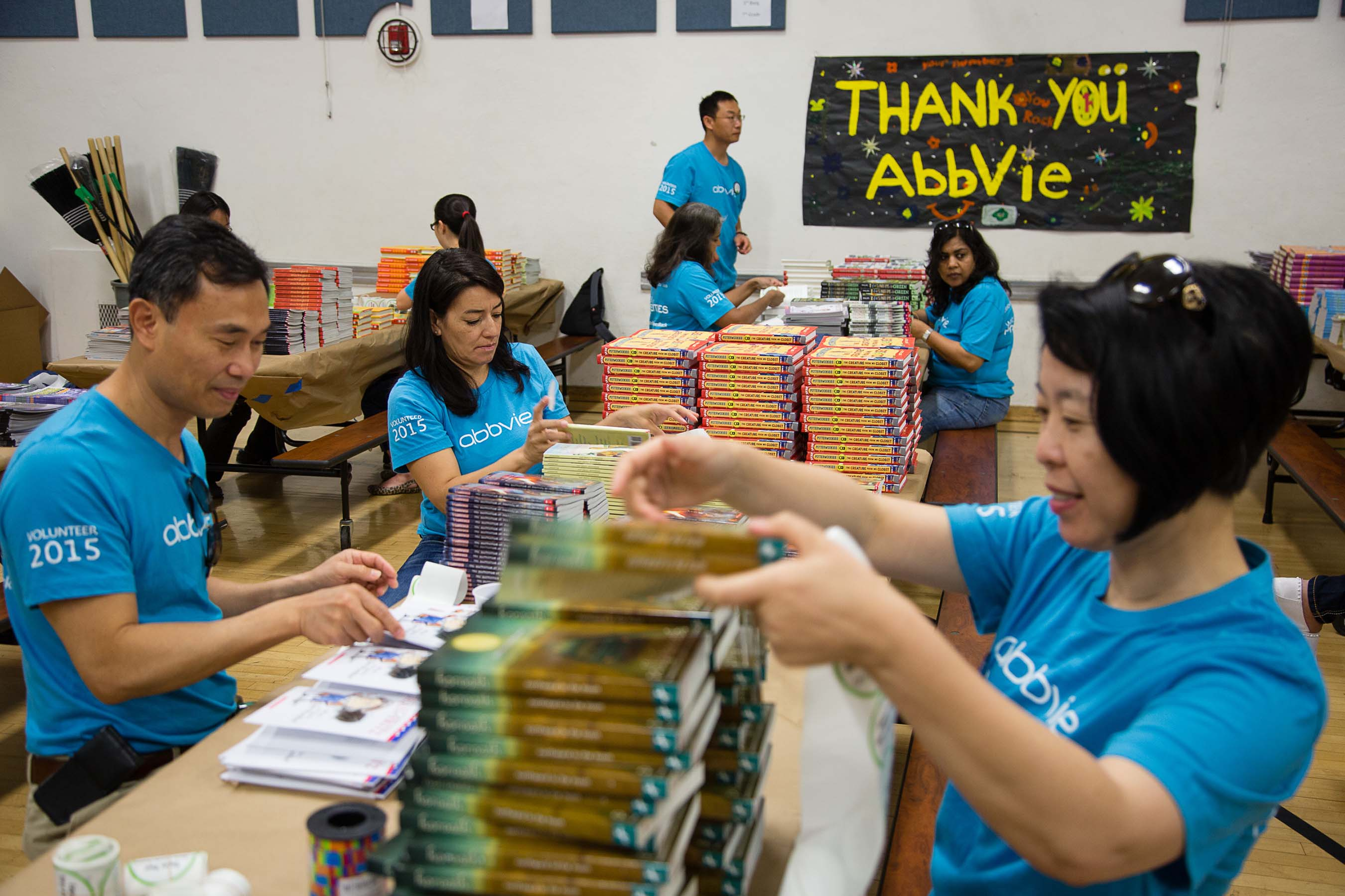 Several libraries will receive new library books for students to take home.