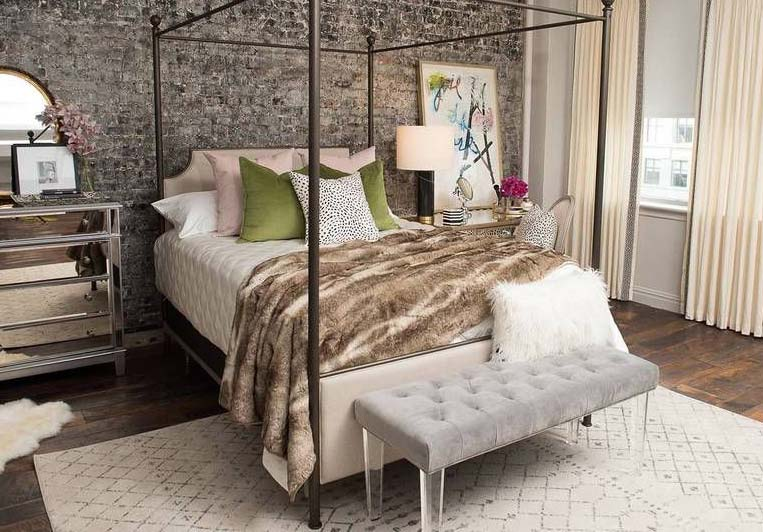The New Lux Estate Collection, Styled By Jonathan Scott, Is Featured In The Edgy Glam Styled-Room