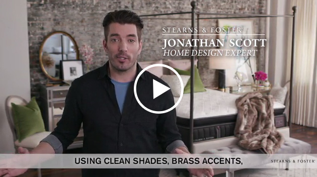 """:15 Launch Video: Stearns & Foster® Teams Up With Jonathan Scott To Launch """"Redesign Your Retreat"""""""