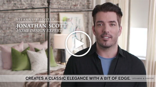 """:60 Launch Video: Stearns & Foster® Teams Up With Jonathan Scott To Launch """"Redesign Your Retreat"""""""
