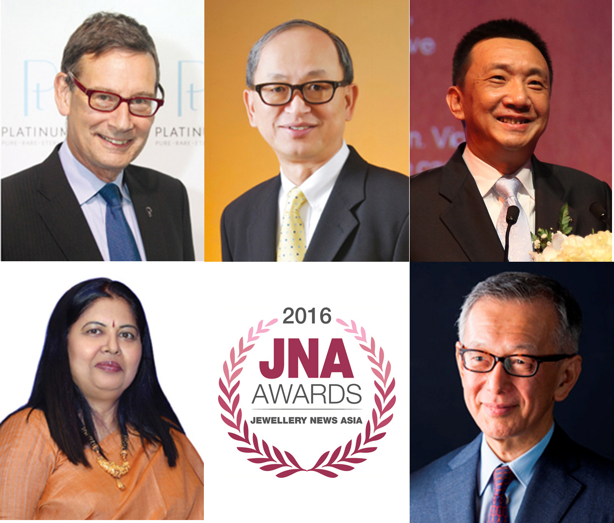 Chow Tai Fook, Gemfields and Rio Tinto Diamonds support JNA Awards 2016