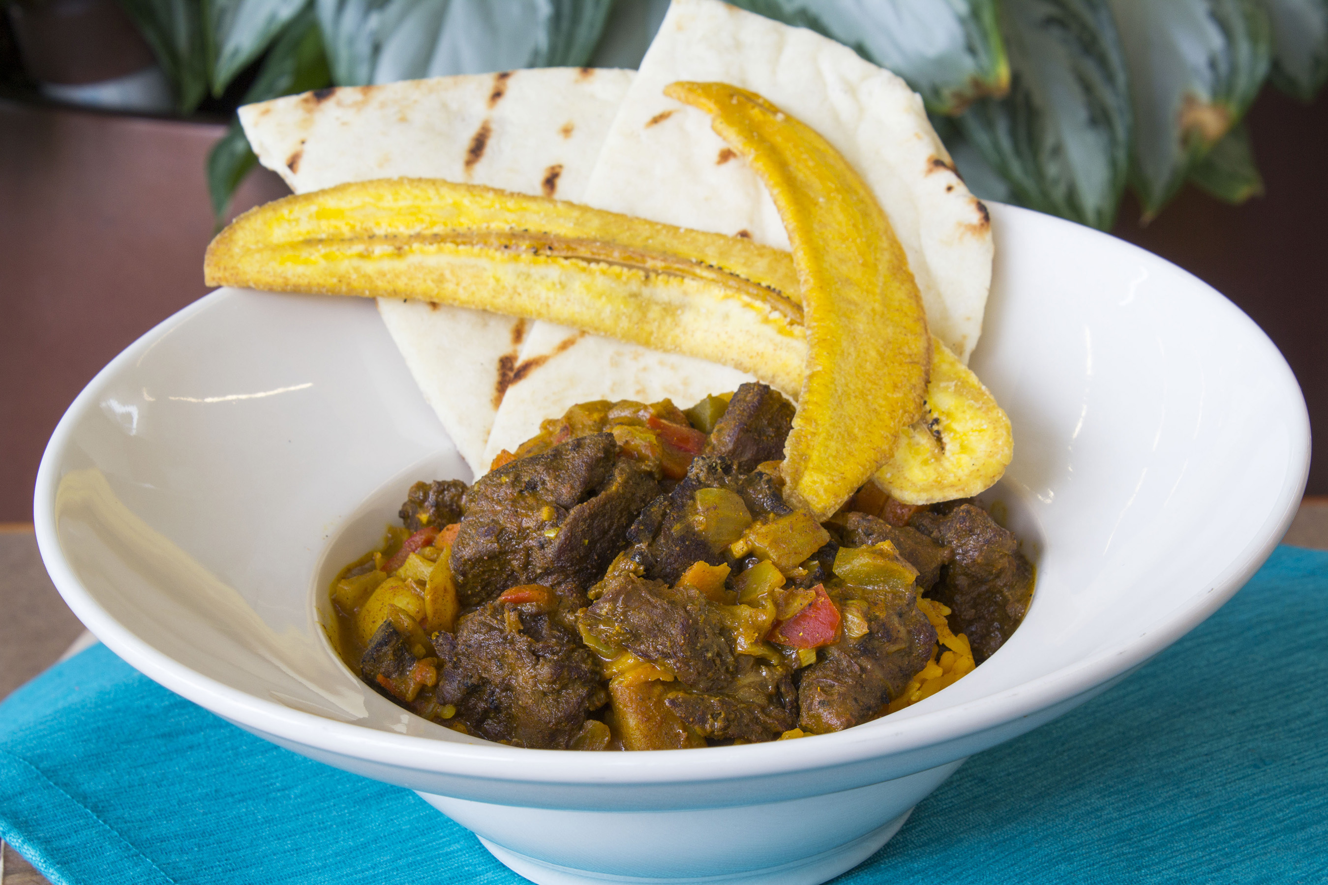 Curry Goat: Guests looking for a true authentic experience should look no further. This traditional, full flavored Caribbean dish is the Reggae Fest Chef Special.