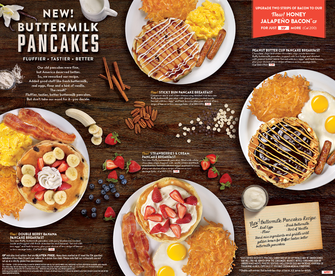 Denny's Delicious New Stacks Have Been Transformed with Pure Ingredients and Classic Flavors for a Bigger, Better and Tastier Pancake