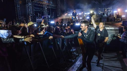 Eric Church headlined Saturday night sold-out crowd