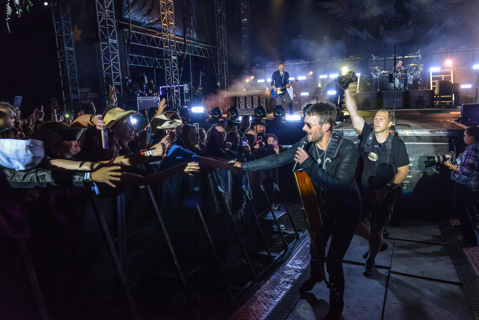 Eric Church headlined Saturday night in front of a sold-out crowd at 6th Annual Taste of Country Music Festival. Photo credit: CJ Berzin/Taste of Country Music Festival