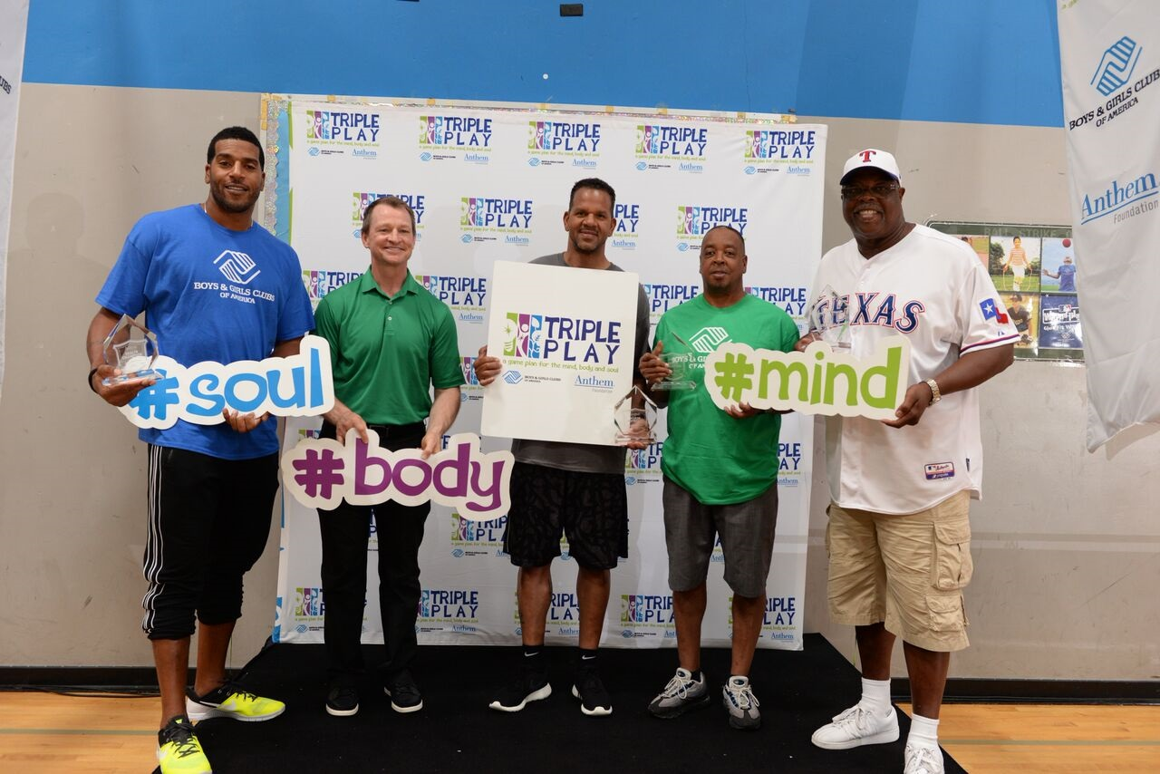 Celebrities, athletes and Boys & Girls Club Alumni participated in Triple Play Day