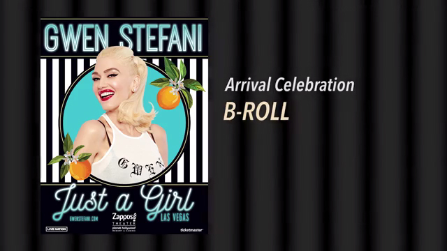 Gwen Stefani Arrival Event B-Roll