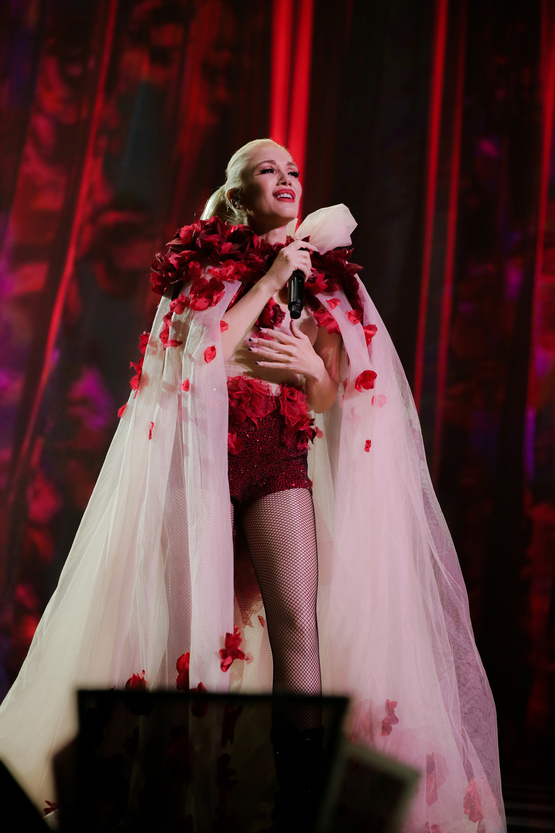 Gwen Stefani performing at Zappos Theater at Planet Hollywood Resort & Casino. Photo Credit: Todd Stefani