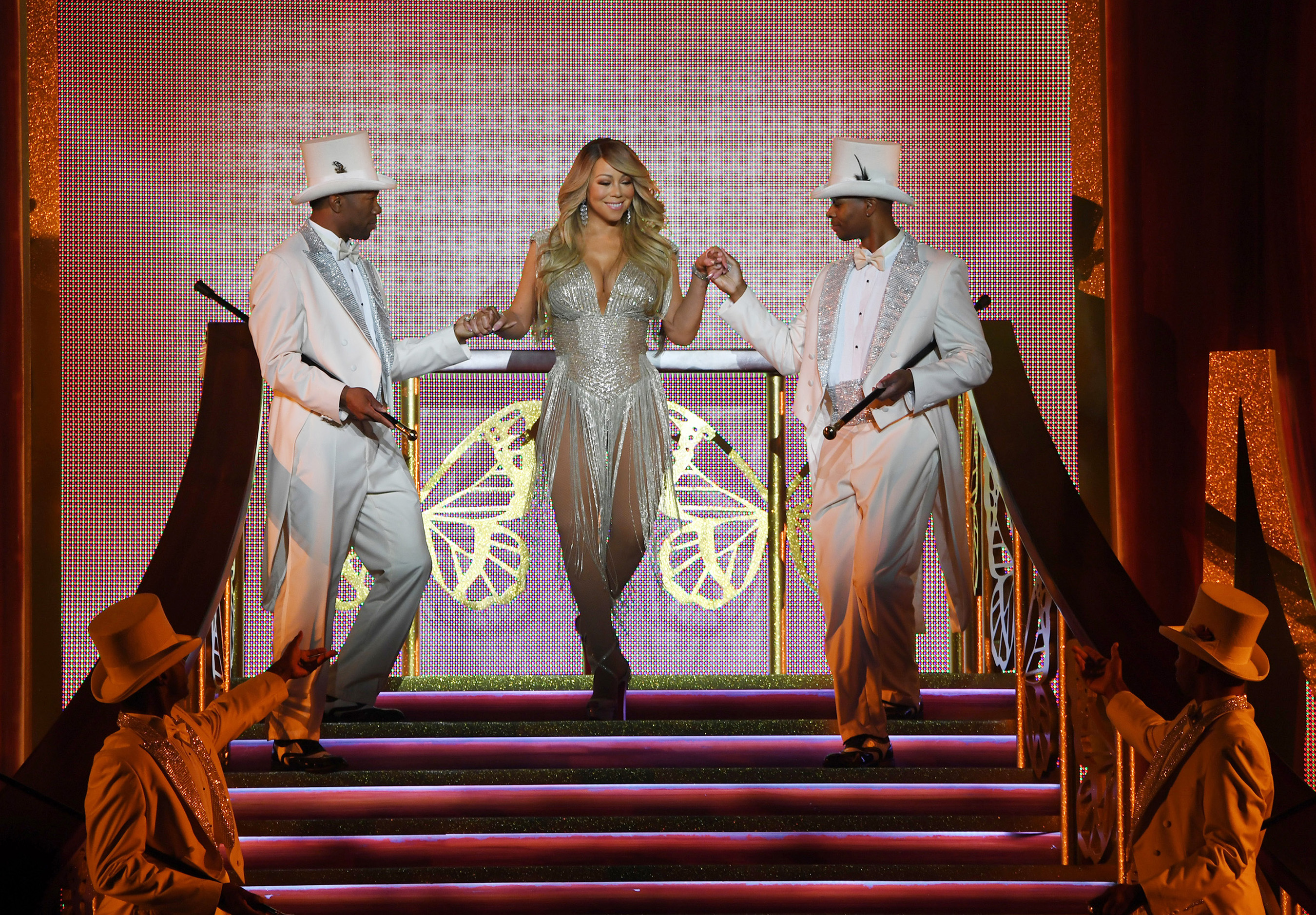 "Mariah Carey debuts ""The Butterfly Returns"" at The Colosseum at Caesars Palace"