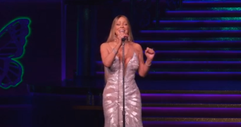 """Mariah Carey debuts """"The Butterfly Returns"""" at The Colosseum at Caesars Palace"""