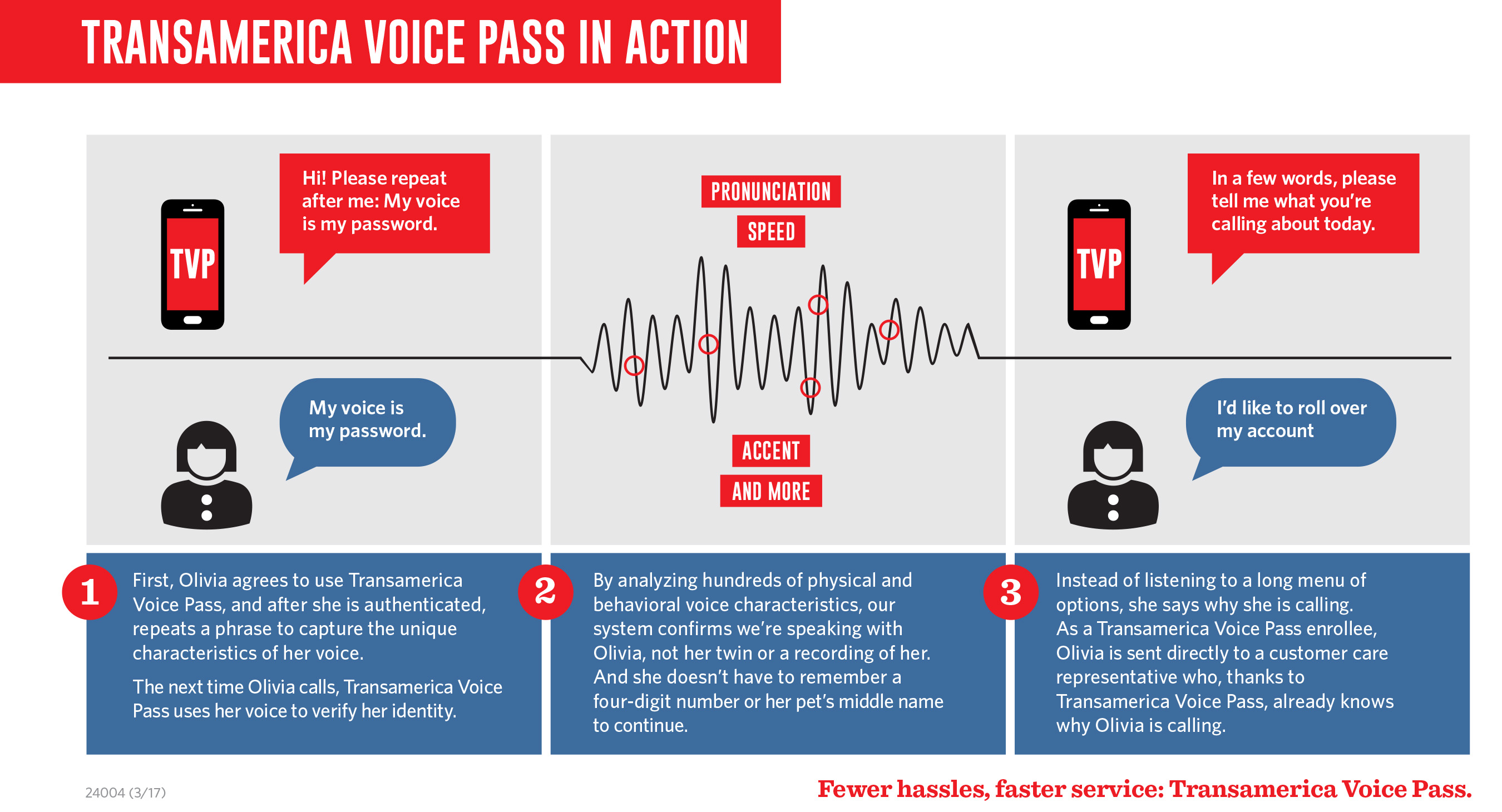 Voice Pass infographic