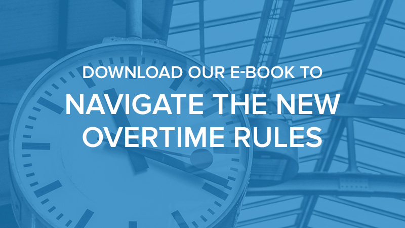 Are You Ready for the New Overtime Legislation?