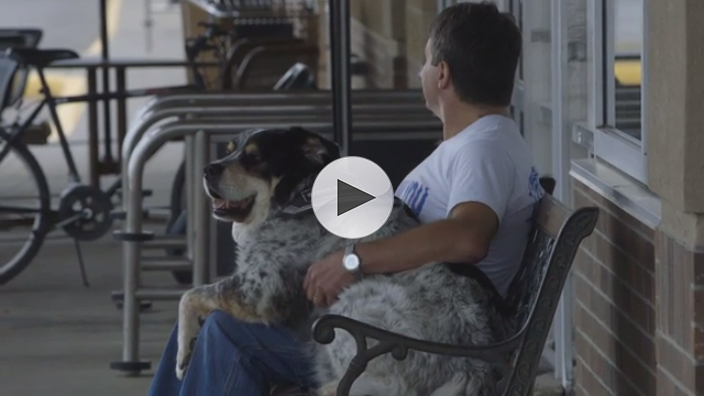 After difficulty finding steady employment, Lowe's loader makes most of opportunity, with a little help from his best friend