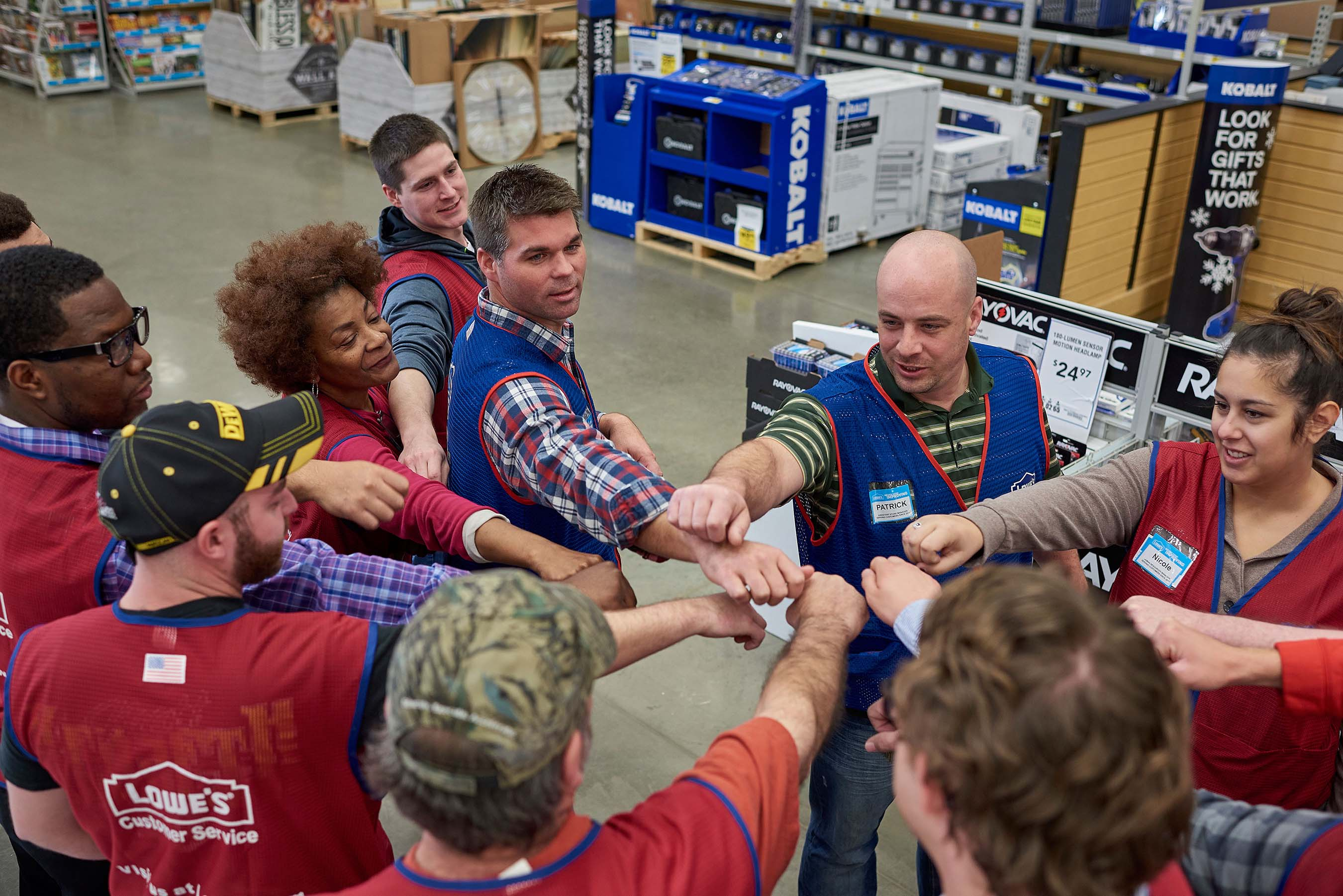 As a purpose-driven home improvement company, Lowe's and its more than 290,000 employees take pride in helping people love where they live.