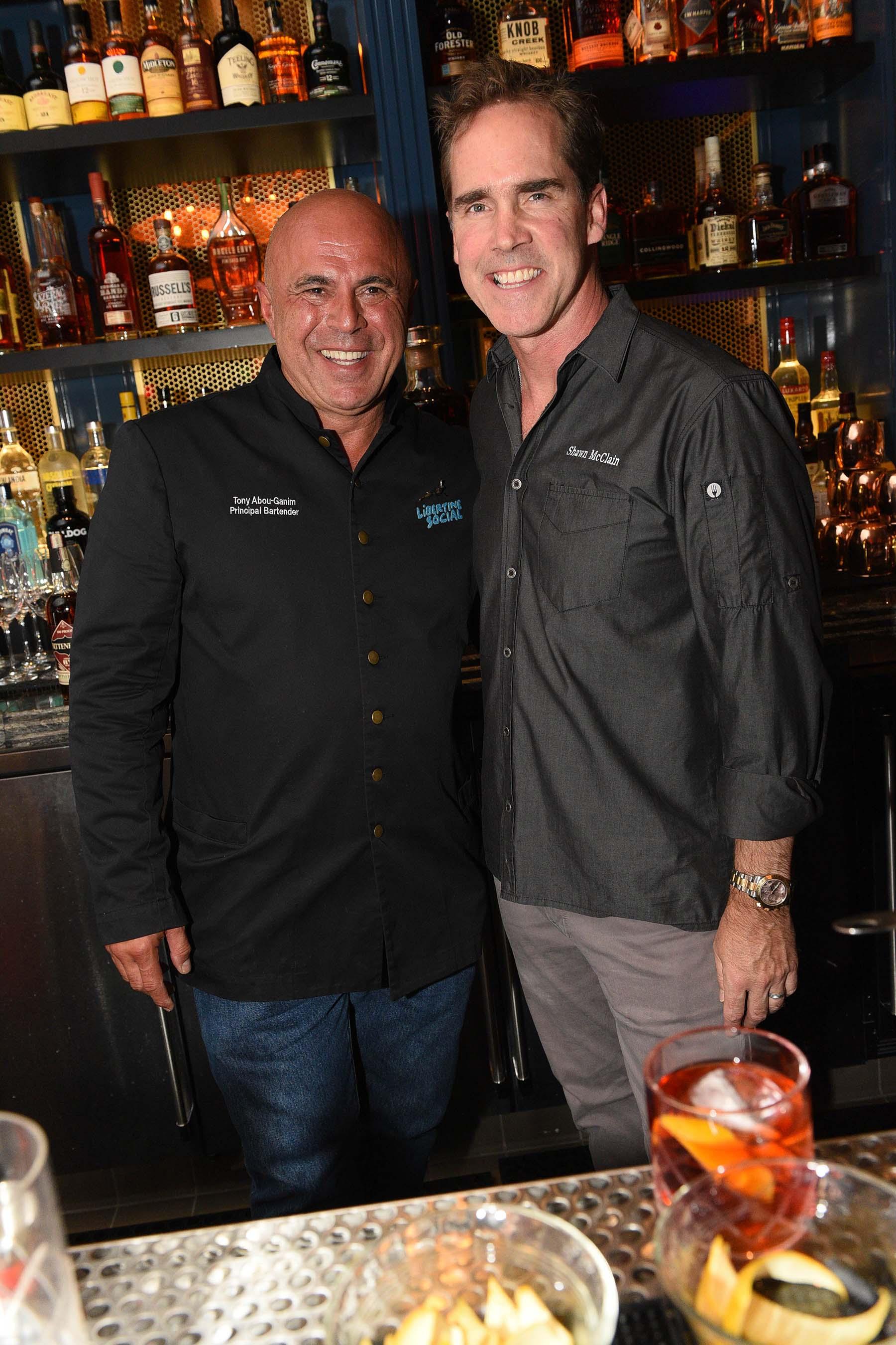Modern Mixologist Tony Abou-Ganim and James Beard Award-winning Chef Shawn McClain