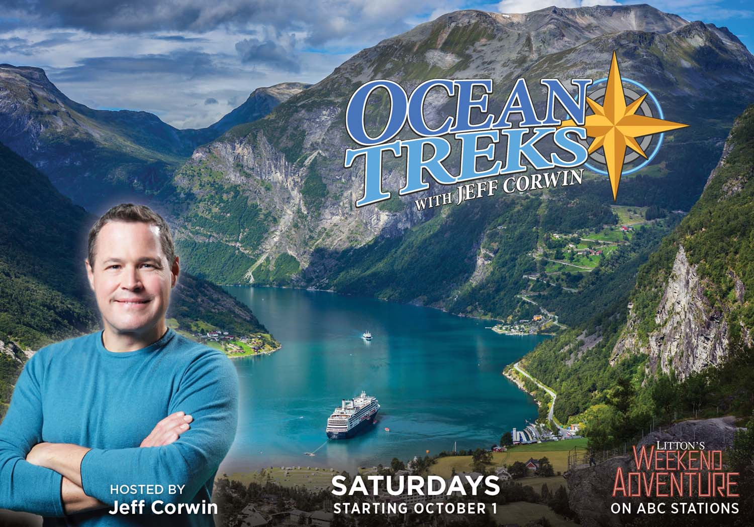 Ocean Treks with Jeff Corwin series poster