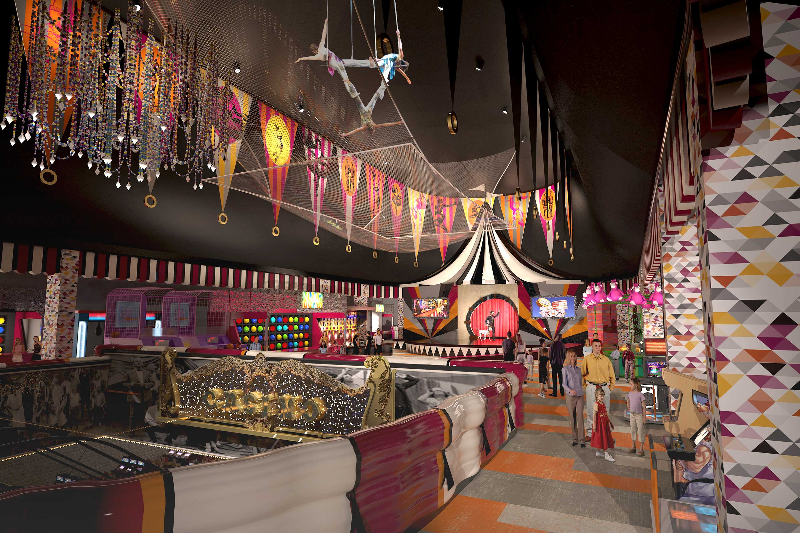 Fun for adults and kids alike, the midway will be reinvented, transformed from a traditional American circus vibe to a more whimsical European feel.