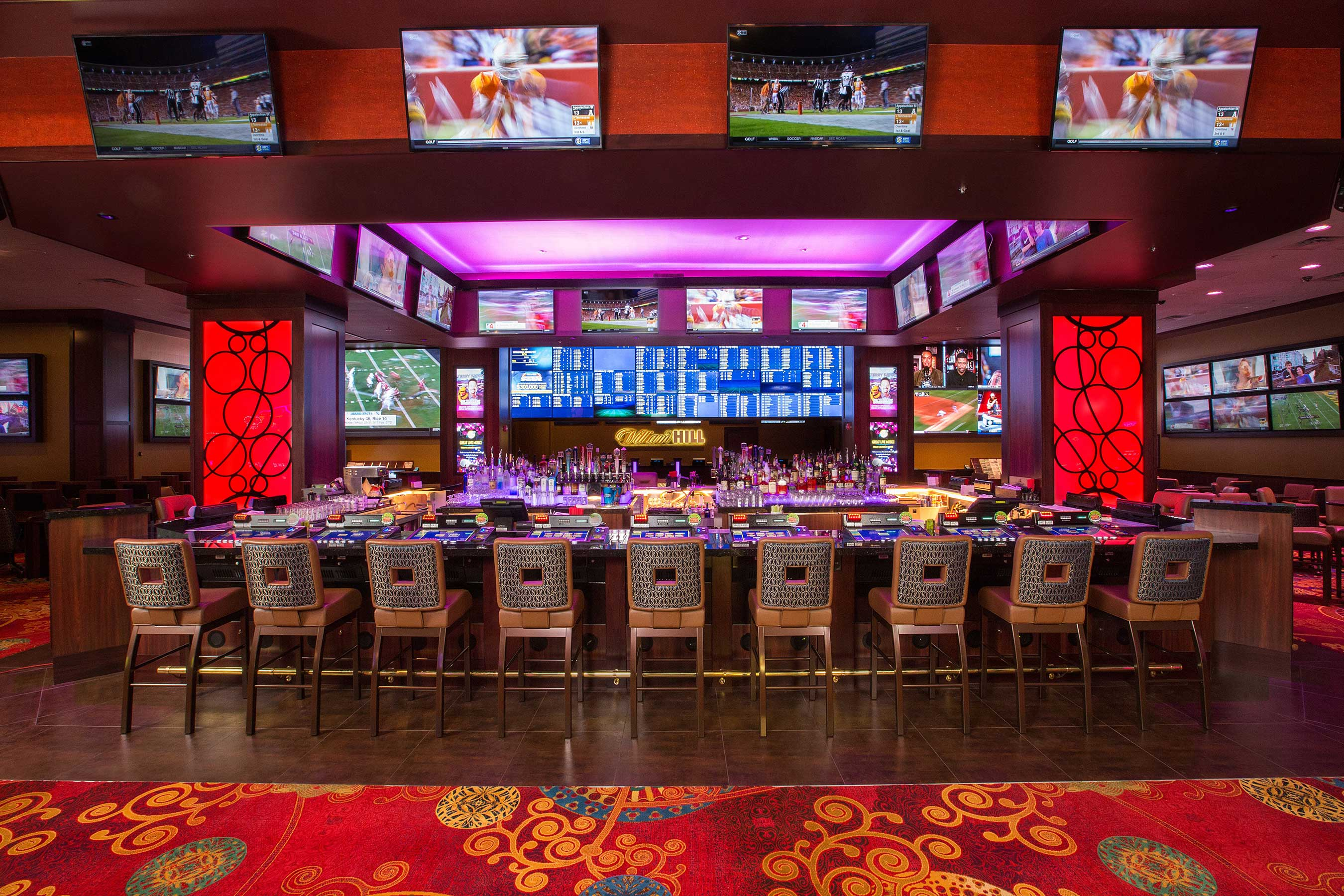 The all-new 7,200 square-foot William Hill Race and Sports Book at Silver Legacy, a $2 million project, opened Sept. 8 just in time for football season.