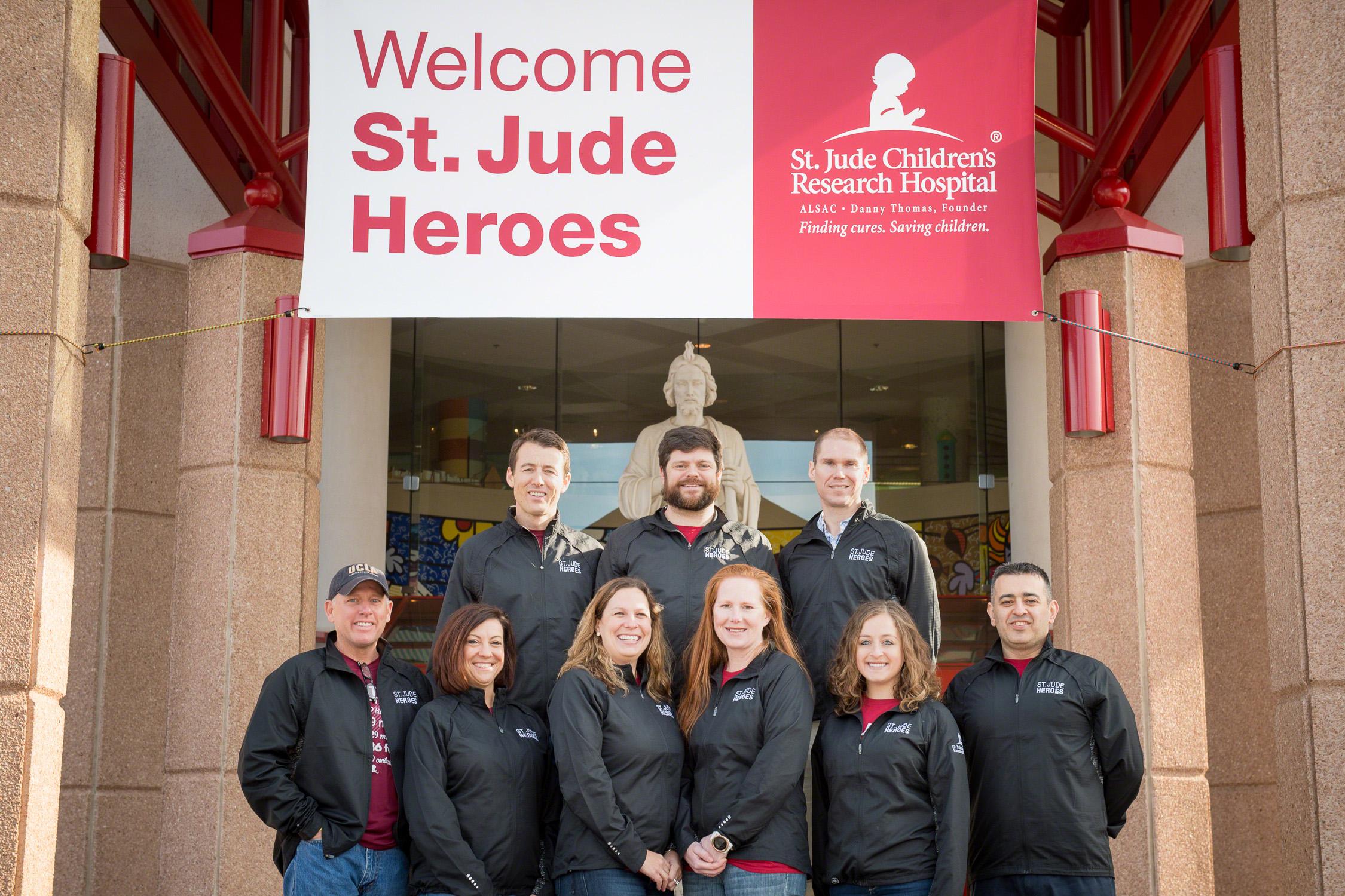 St. Jude Heroes: Boston Marathon St. Jude Heroes Team