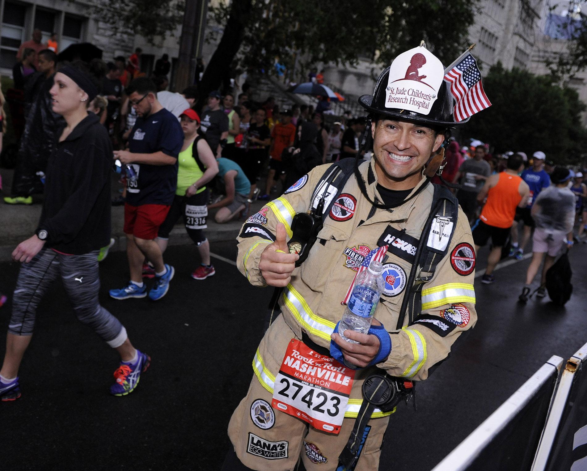 St. Jude Hero Fireman Joe