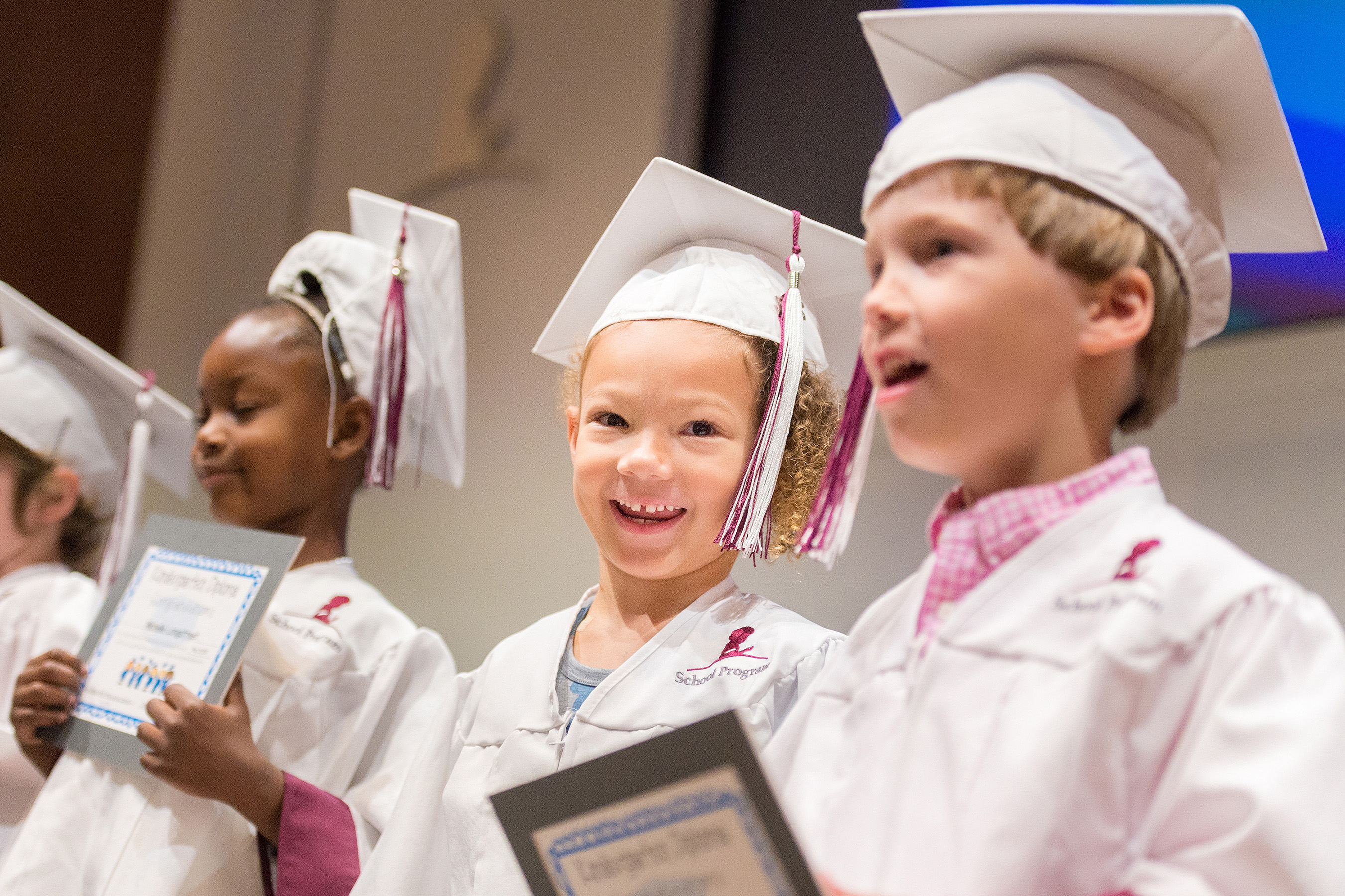 It's an experience taken for granted by some students, but for some patients at St. Jude Children's Research Hospital, kindergarten graduation is a milestone worth the celebration.