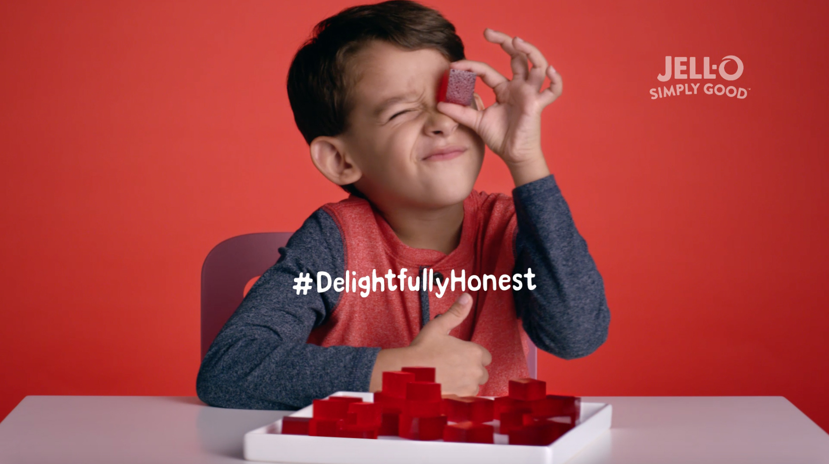 JELL-O SIMPLY GOOD is inviting parents nationwide to join in on the conversation and asking they share their kids' unfiltered honesty with #DelightfullyHonest.