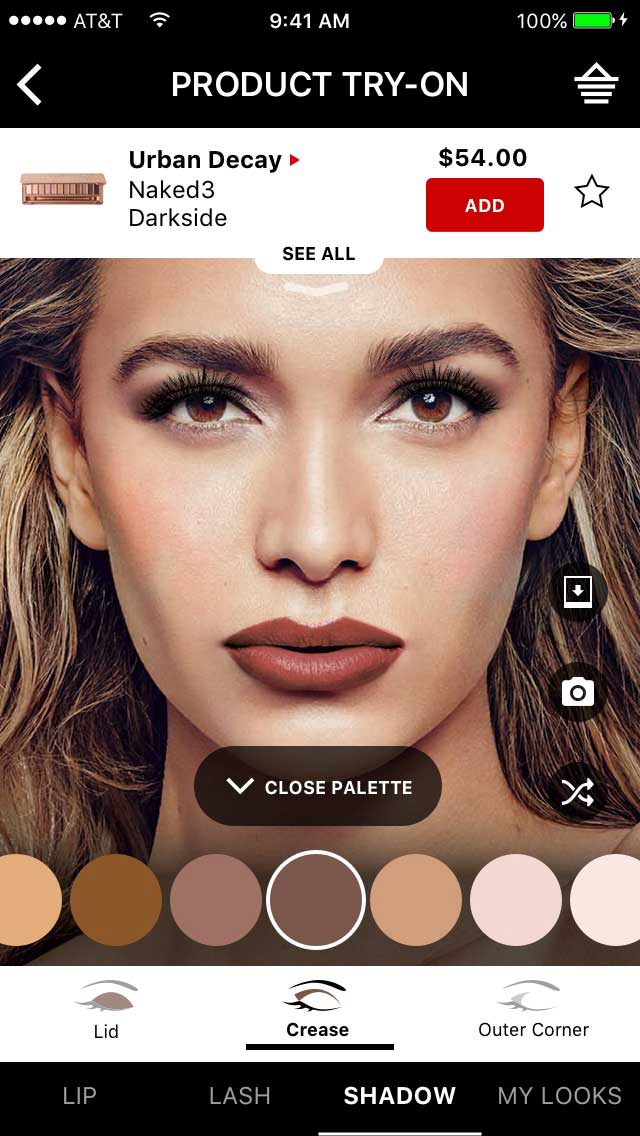 sephora virtual artist adds virtual try on of thousands of