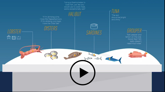 Determine if your seafood is fresh with these helpful tips from seafood experts.