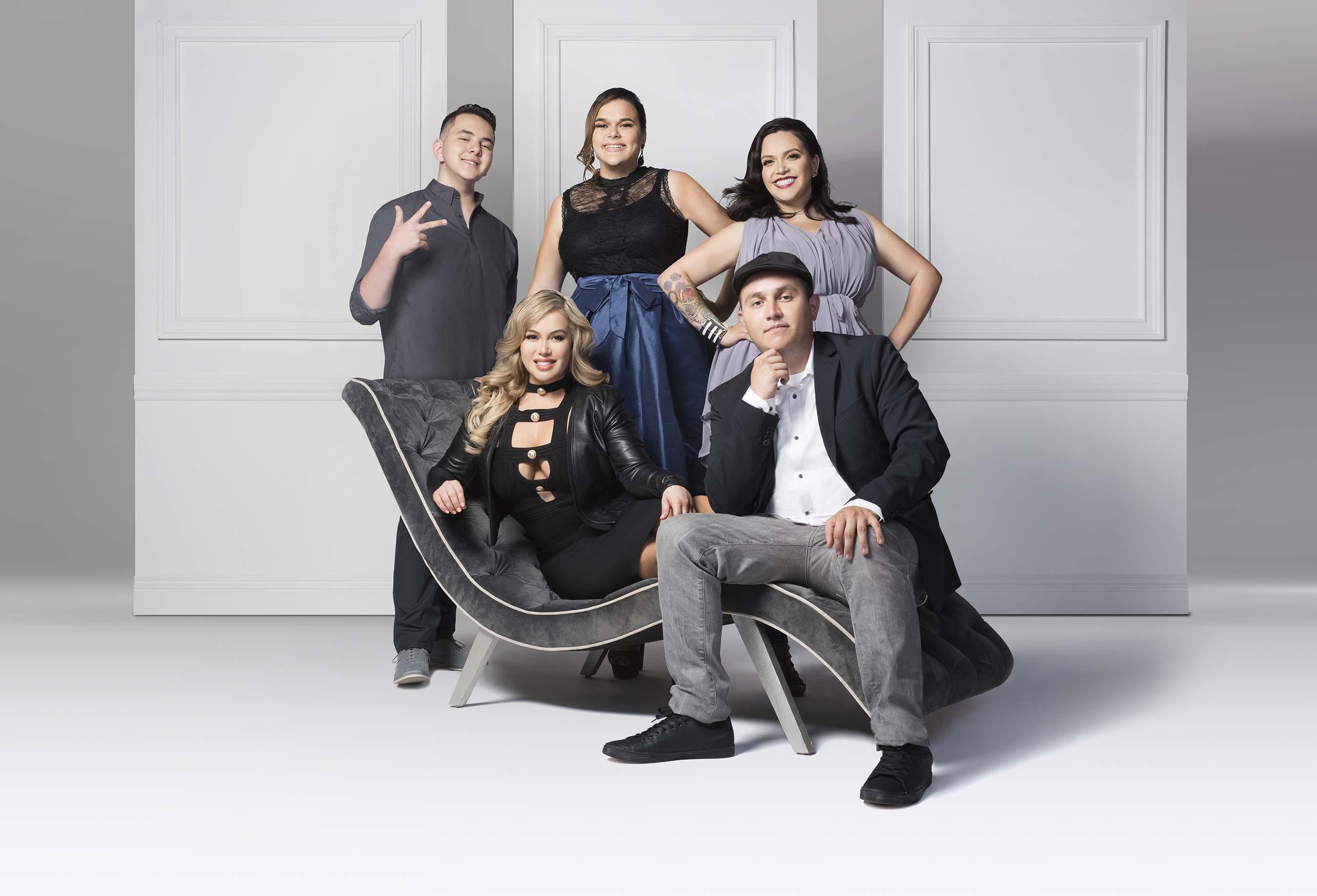 """The Riveras"" Season 1 Key Art image"