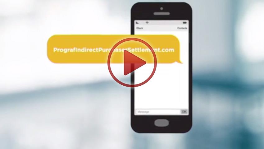 Prograf Indirect Purchaser Settlement Video