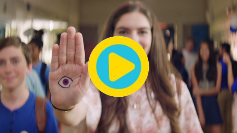 More than one in four kids a year experience bullying. #IAmAWitness aims to activate the silent majority of kids who witness bullying, and empower them to use the eye emoji to end bullying.