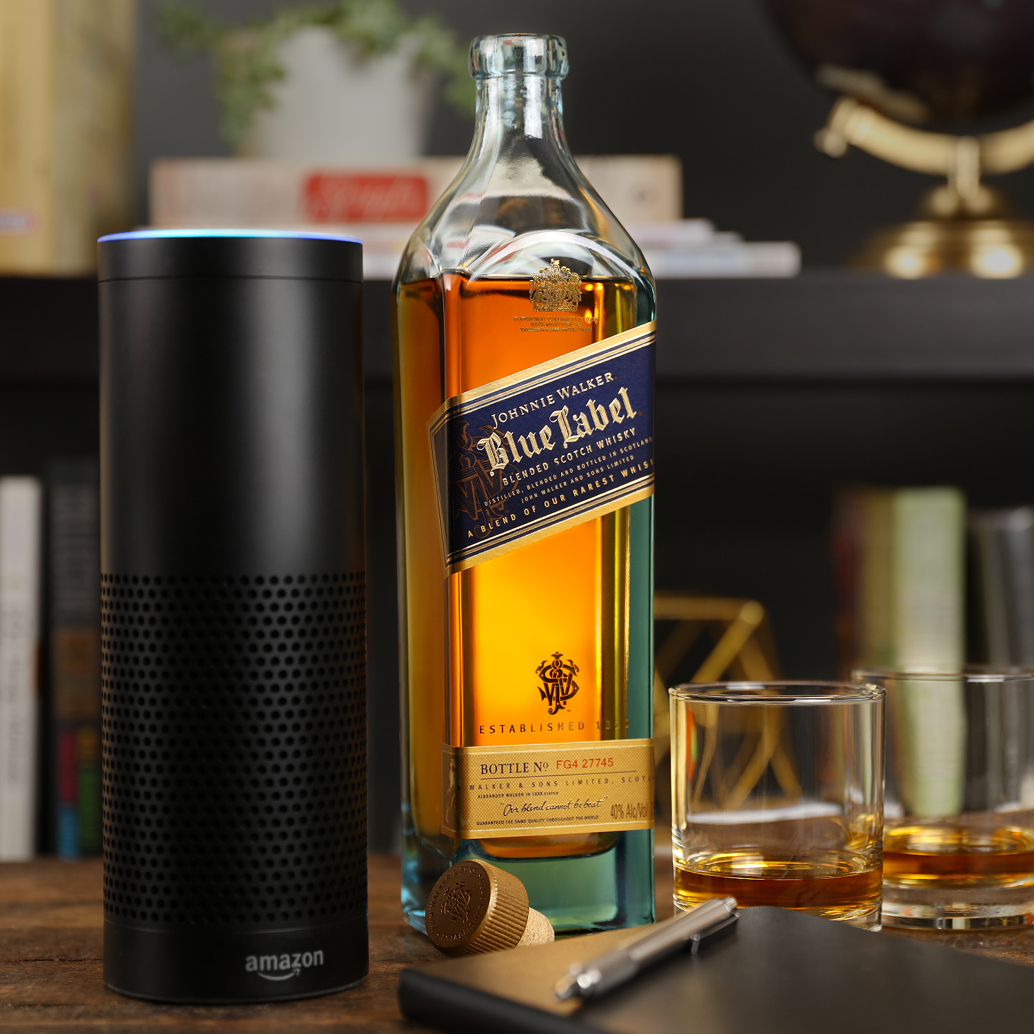 Johnnie Walker collaborates with Amazon to develop an innovative Alexa skill bringing to life over two centuries of heritage and blending expertise