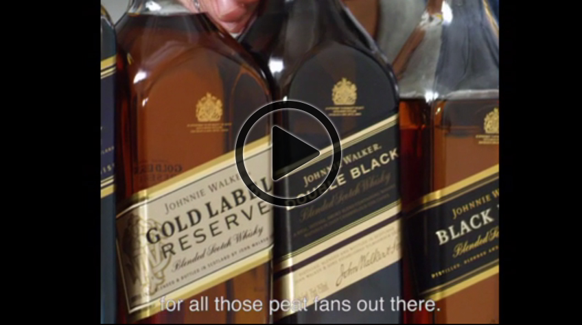 A New Way to Nose: Johnnie Walker and critically-acclaimed mixologist Jeff Bell collaborate for a unique video series showcasing fun tidbits, tricks, and whisky facts
