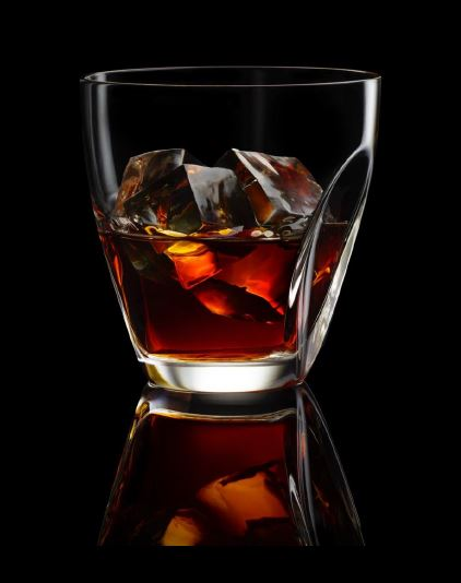 Hennessy X.O is best enjoyed over three ice cubes.