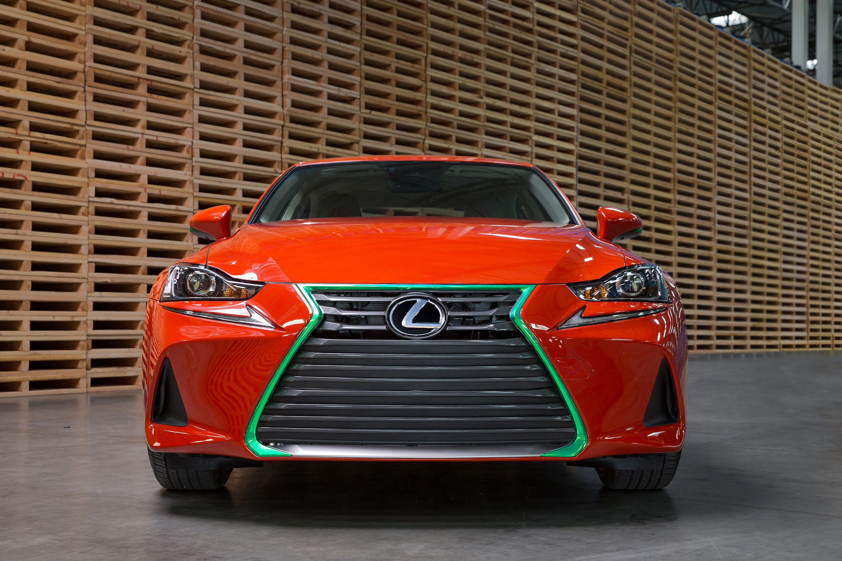 Lexus Sriracha IS spindle grille