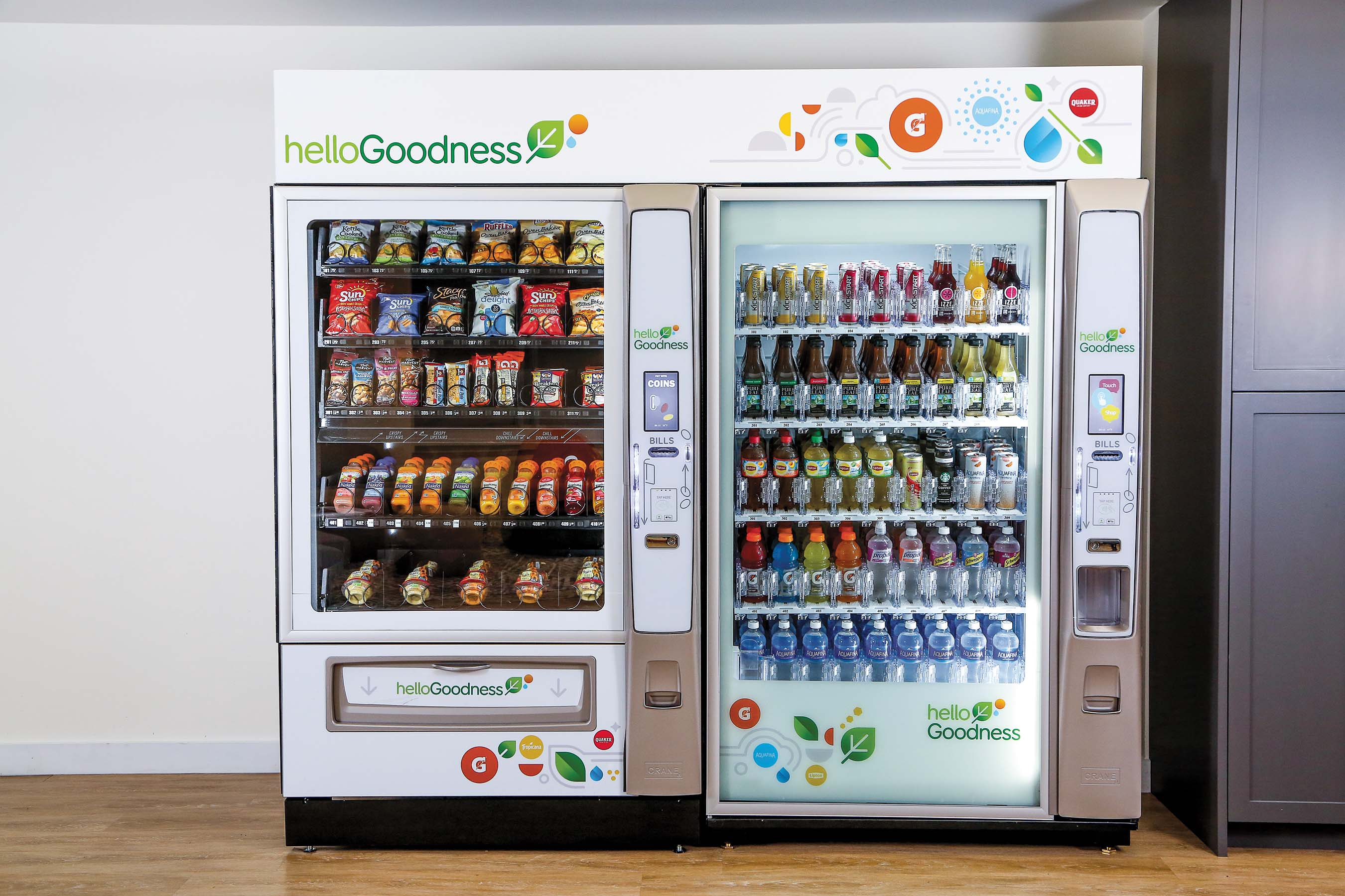 PepsiCo Hello Goodness Vending Machine