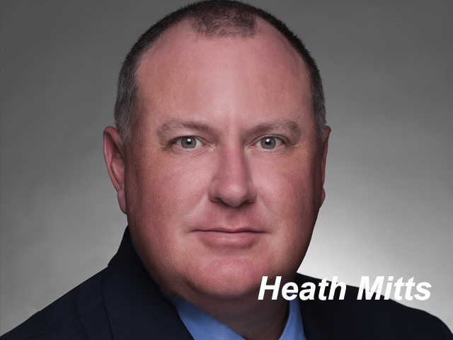 Heath Mitts, CFO