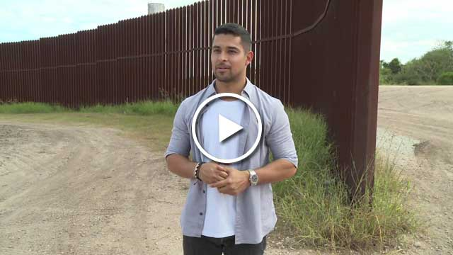 Wilmer Valderrama Walks the United States – Mexico Border for Johnnie Walker's Keep Walking America Campaign