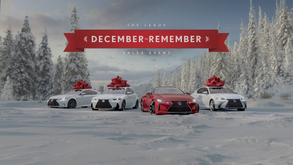 Lexus Encourages Customers to Wish Big This Holiday Season