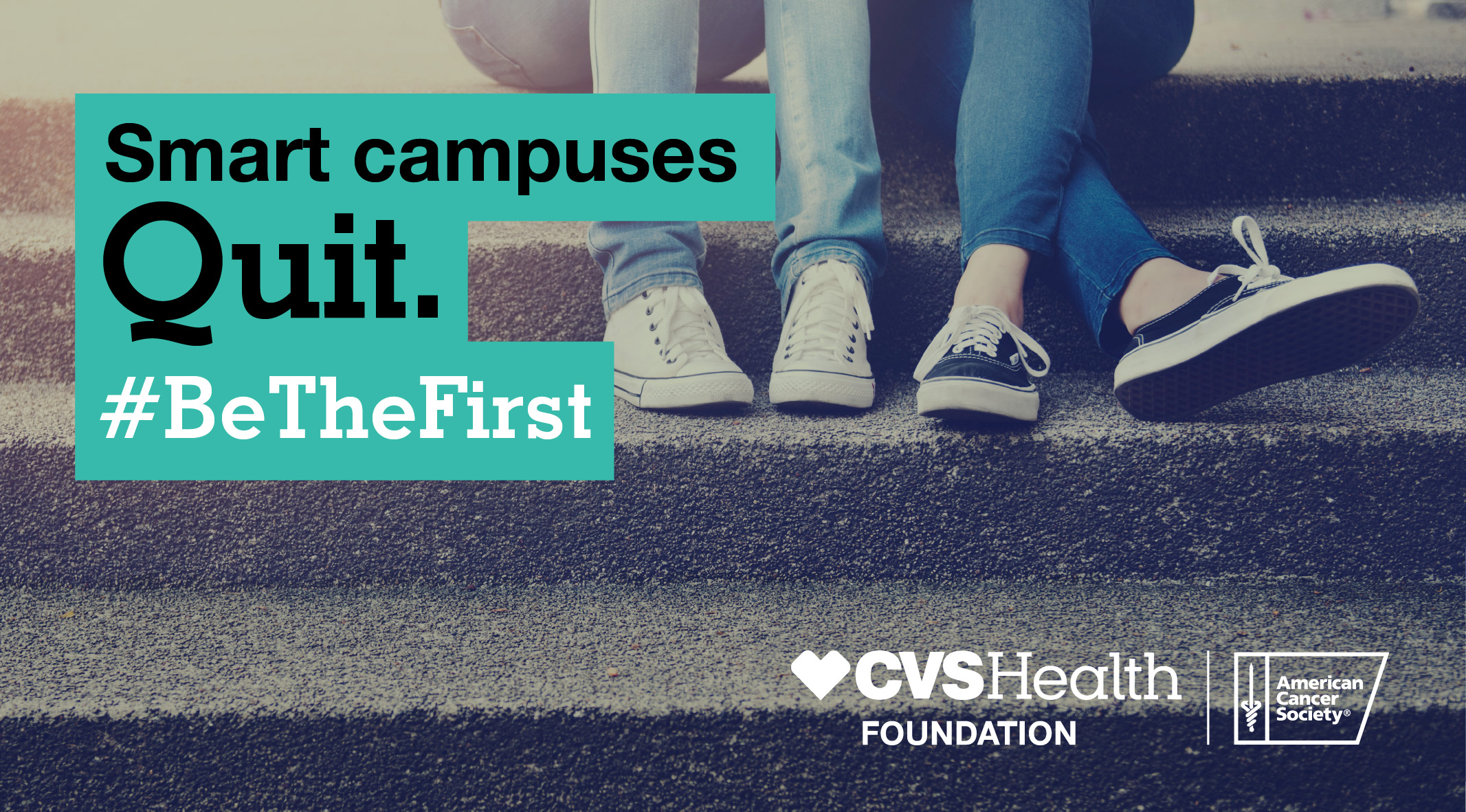 Smart campuses quit. #BeTheFirst