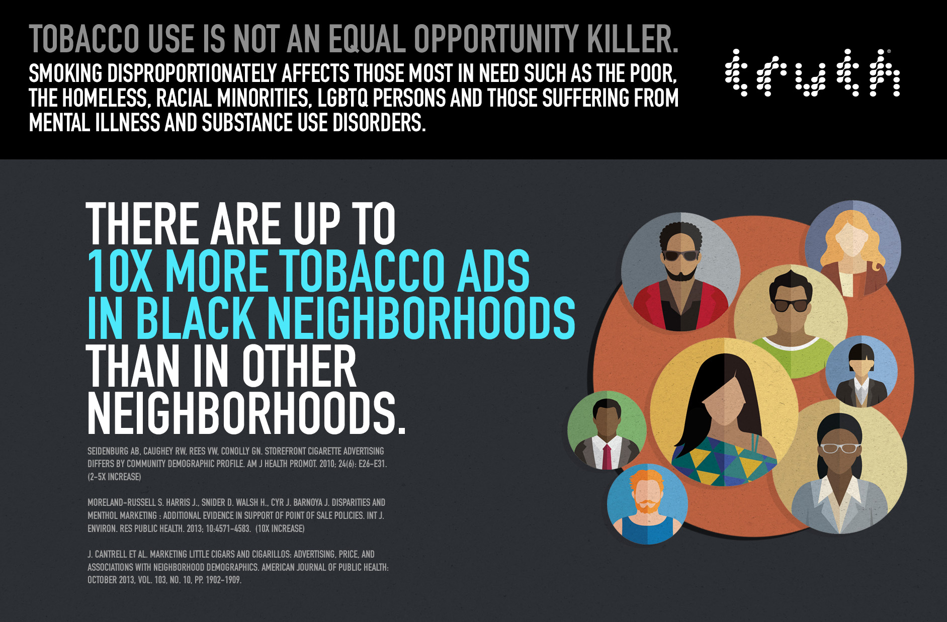 Up To 10X More Tobacco Ads In Black Neighborhoods – Infographic