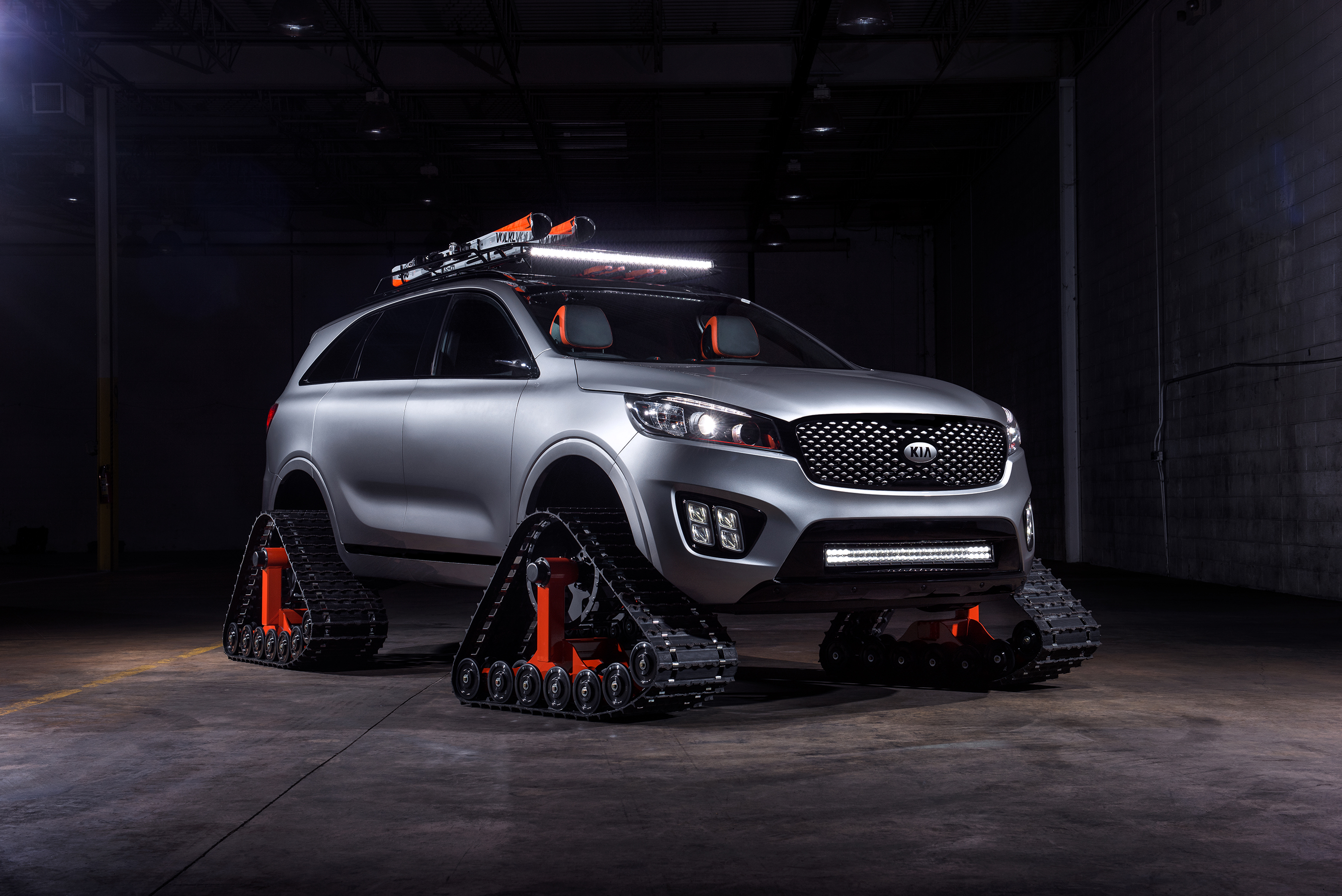 Taking the idea of a sport-utility vehicle to new heights, the luxurious and self-driving Sorento Ski Gondola is all about climbing to higher ground in style, comfort and warmth