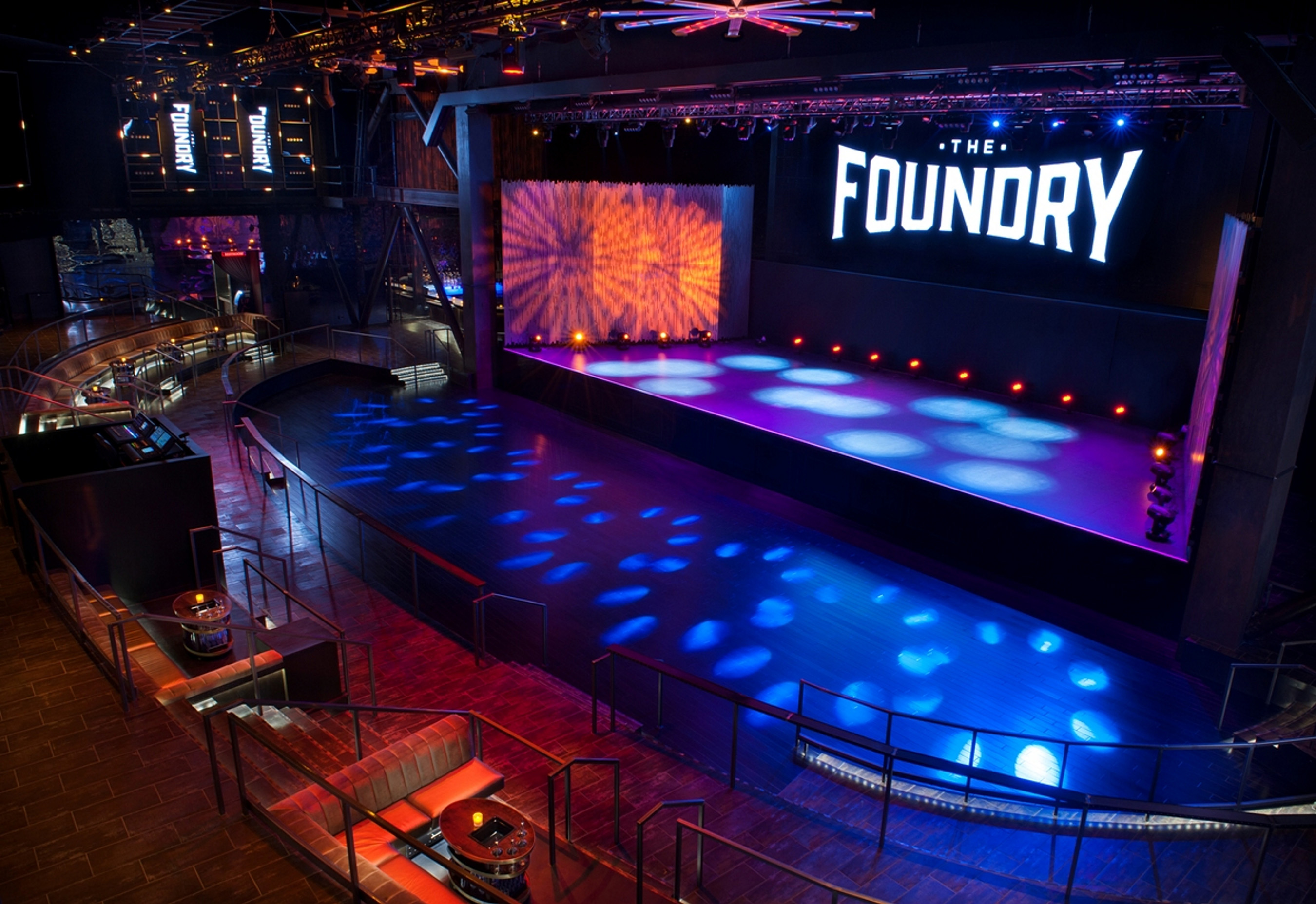 The Foundry, SLS' newest live entertainment venue, funnels the energy of Las Vegas' top acts into an intimate space.