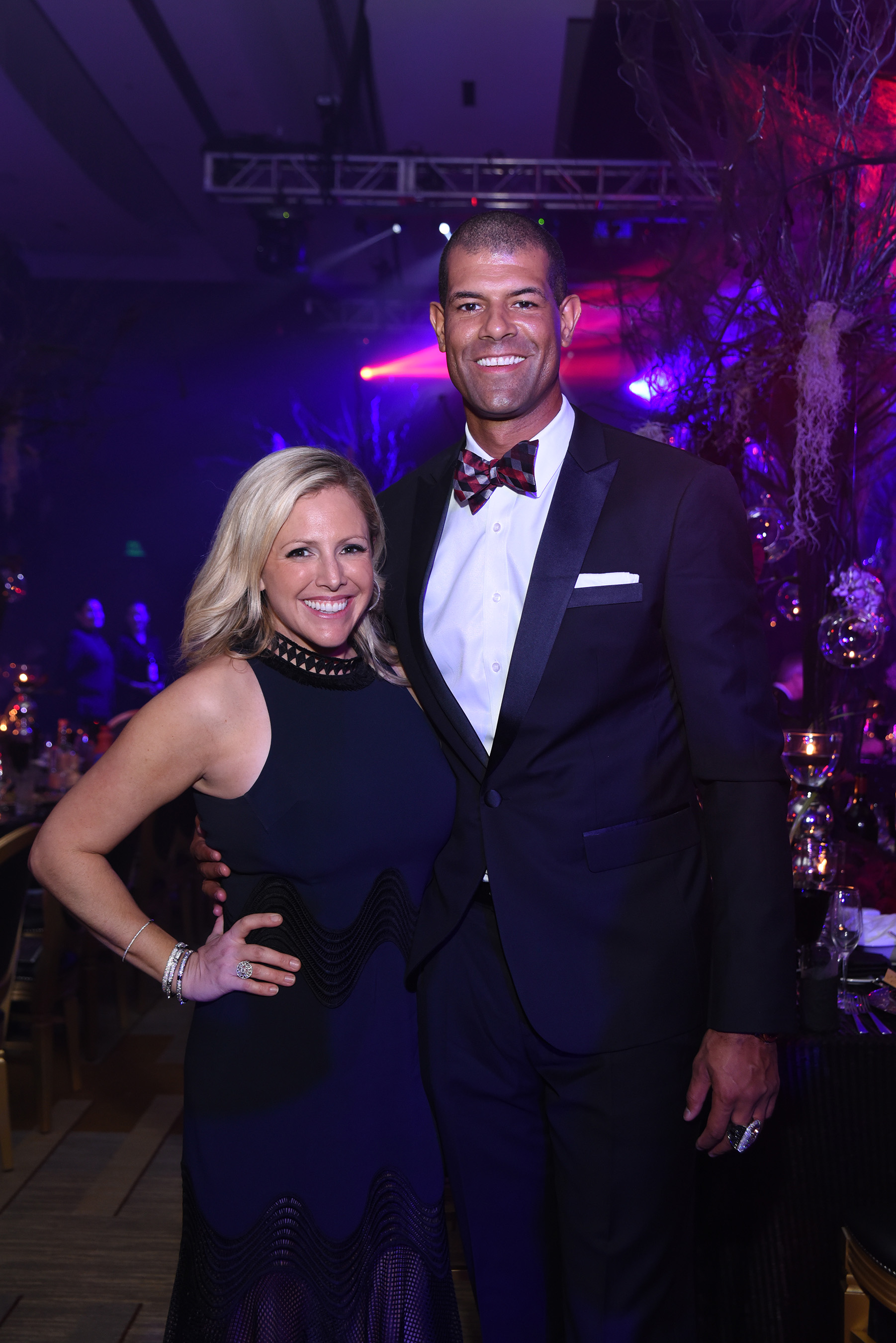 Heidi and Shane Battier