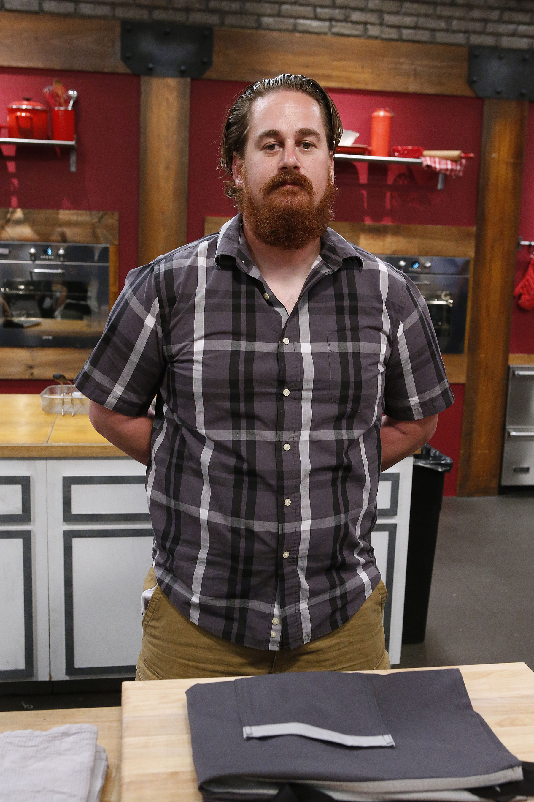 Contestant Adam Cooke on Food Network's Worst Cooks in America