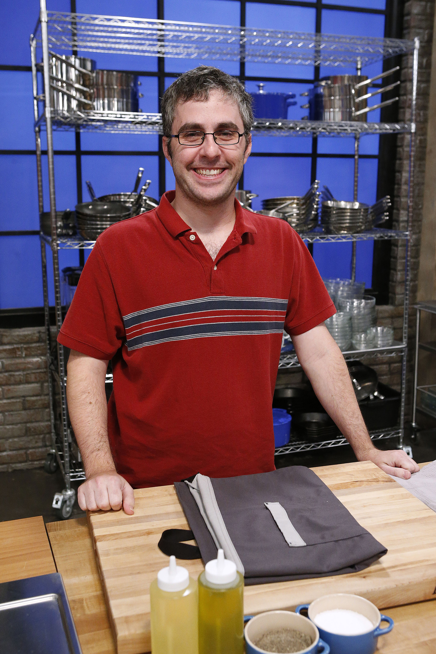 Contestant Matt Josephs on Food Network's Worst Cooks in America