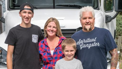 The Fieri Family Hits The Highway On Guy S Family Road Trip