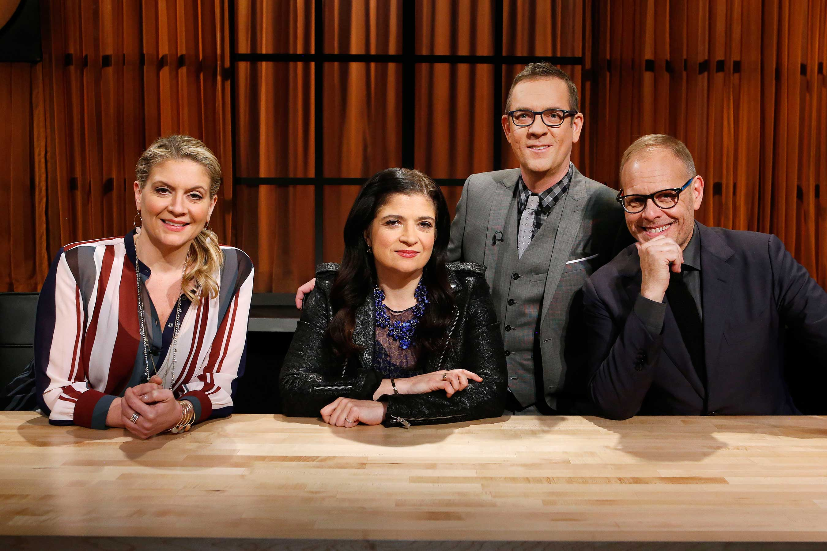 **Tune-in Alert** Alton Brown Takes Over The Chopped Kitchen In Chopped: Alton's Challenge