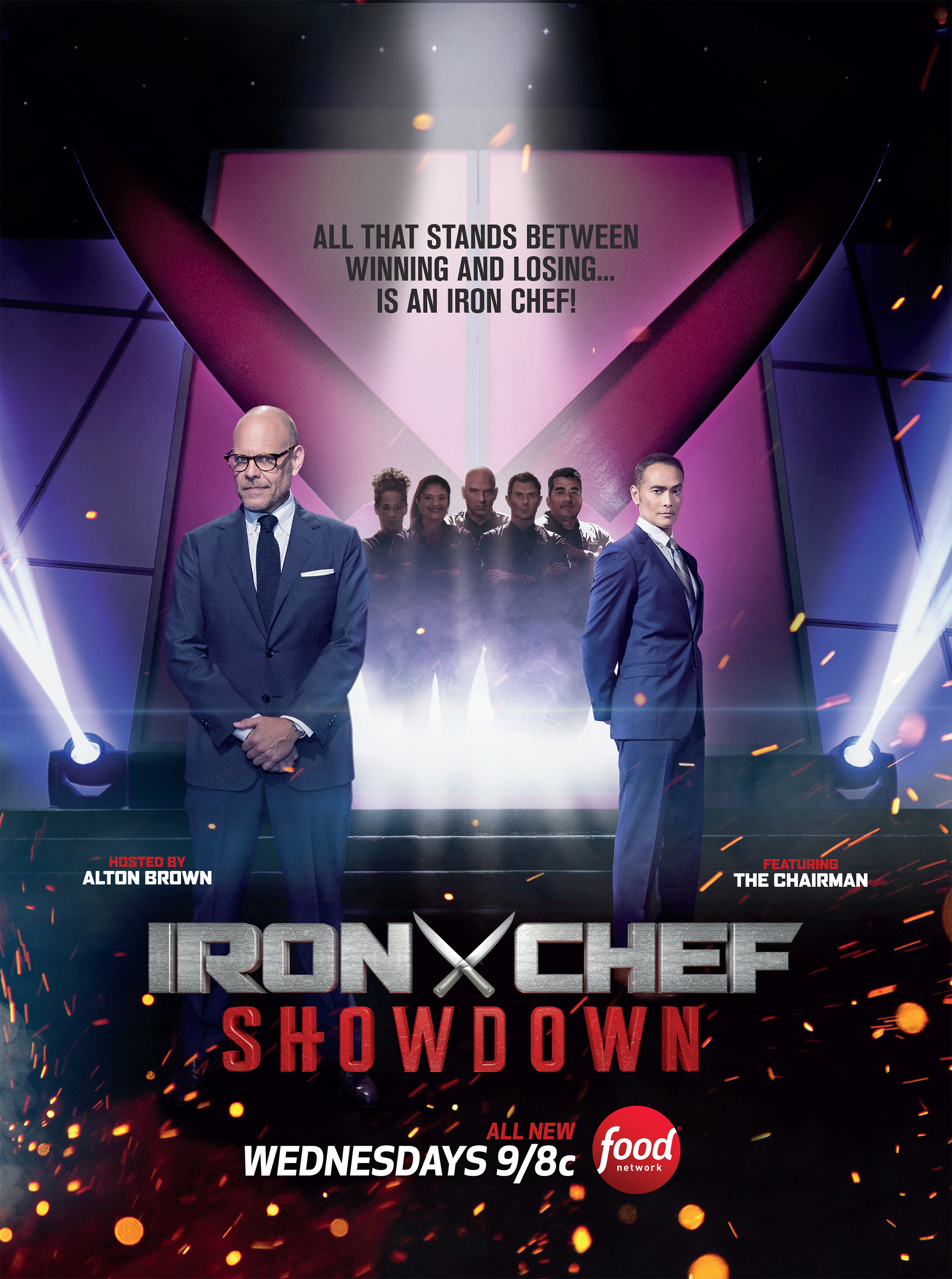 Iron Chefs Return To Legendary Kitchen Stadium For Reimagined Take On Fan-Favorite Franchise In Iron Chef Showdown