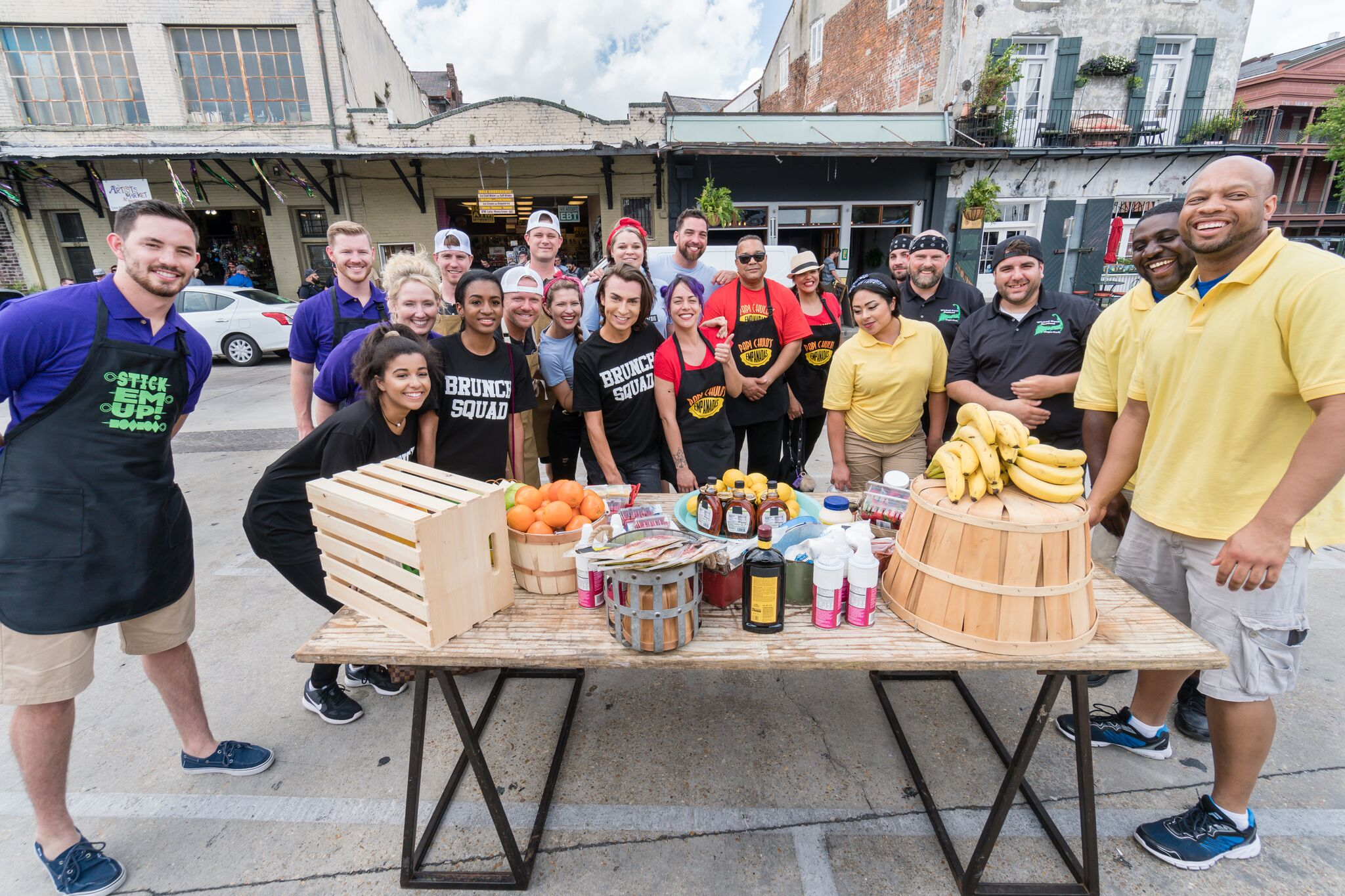 The teams of Food Network's The Great Food Truck Race